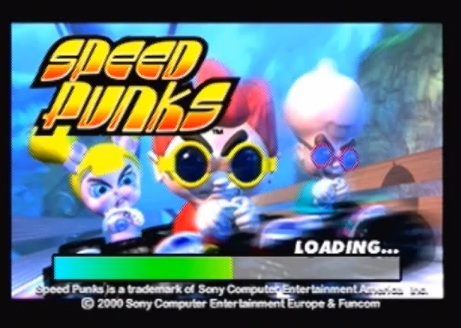 une photo d'écran de Speed Freaks sur Sony Playstation